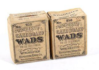 Antique Winchester Cardboard Shotgun Wads