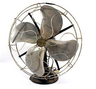 Mid 20th Century Signal Motor Industrial Metal Fan