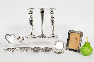 English & American Sterling Silver Articles, 17CS