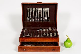 Towle Old Master Sterling Silver Flatware, 47 PCs