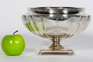 Whiting Sterling Silver Footed Martin Trophy