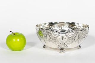 Tiffany & Co. Sterling Silver Footed Fruit Bowl