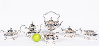 Black, Starr, & Frost 6 PC Sterling Silver Tea Set