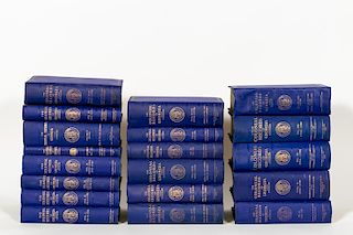 """19 Volume Set, """"The Colonial Records of Georgia"""""""