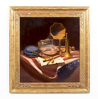Don Doxey, Oil on Canvas, Still Life