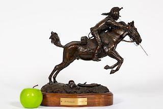 """L.P. McCann Bronze Sculpture """"Le Cuirassier 1805"""""""