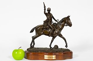 "L.P. McCann Bronze ""Continental Light Dragoon"""