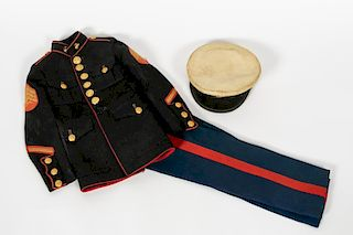 Diminutive Marine Corps Dress Military Uniform