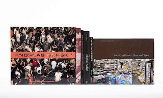 Galassi, Peter/ Abbas/ Catany,Tony... Libros sobre Andreas Gursky, Barry Fryedlender, Abbas, Martin Munkacsi y Bastienne Schmidt. Pzs:6