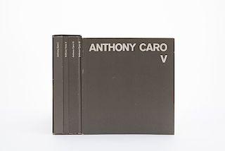 Blume, Dieter. Anthony Caro. Catalogue Raisonné. Köln: Verlag Galerie Wentzel, 1981. Pzs: 5.