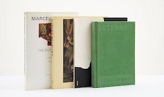 Bonk, Ecke / Lyotard, Jean-Francois / Schwarz, Arturo. Libros sobre Marcel Duchamp. Pzs: 4.