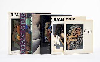 Green, Christopher / Gaya Nuño, Juan Antonio / Rosenthal, Mark / Varios Autores / Thrall Soby, James. Libros sobre Juan Gris. Piezas: 6