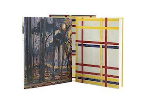 Joosten, Joop M. - Welsh, Robert. Piet Mondrian, Catalogue Raisonné. New York: Harry N. Abrams, 1998. Tomos I - II. Piezas: 2.