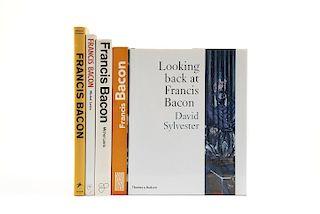 Leiris, Michel / Sylvester, David / Schmied, Wieland. Libros sobre Francis Bacon. Pzs: 5.