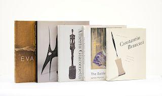 Sussman, Elisabeth / Prather, Marla / Hyman, James / Peppiatt, Michael / Chave, Anna C. Libros sobre Artistas Contemporáneos. Pzs: 5.