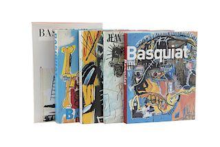 Tony Shafrazi Gallery / Mayer, Marc / Marshall, Richard. Libros sobre Jean-Michel Basquiat.  Piezas: 5.
