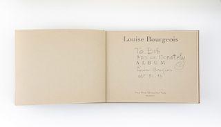 Bourgeois, Louise. Album. New York: Peter Blum, 1994. Ilustrado con 69 fotolitografías. Firmado por Louise Bougeois.