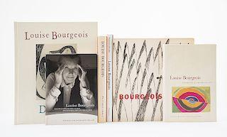 Weiermair, Peter / Bernadac, Marie-Laure / Pincus-Witten, Robert. Libros sobre Louise Bourgeois. Piezas: 6.