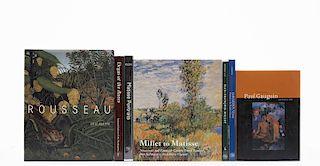 Klein, John / Hamilton, Vivien / Murphy, Alexandra R / Zafran, Eric M... Libros sobre Matisse/Henri Rousseau/Edgar Degas. Pzs: 7.