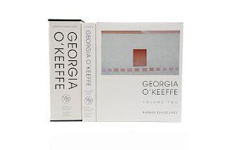 Buhler Lynes, Barbara. Georgia O'Keeffe, Catalogue Raisonné. New Haven - London, 1999. Tomos I - II. Piezas: 2.