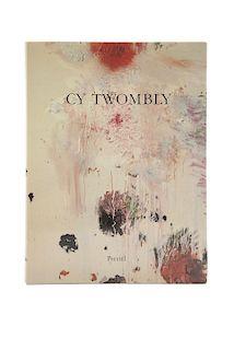 Szeemann, Harald. Cy Twombly, Paintings Works on Paper Sculpture. Munich: Prestel - Verlag, 1987.