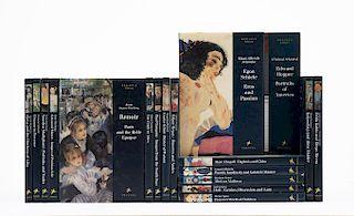 Colección de Libros de Pegasus Library. Germany: Prestel, 1994 - 1999. Pzs: 18.