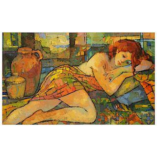 Kamal Givian Oil on Canvas