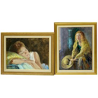 Two Frank Palmieri Paintings