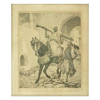 Henri Regnault Engraving