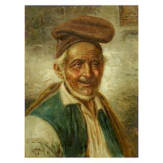 Roberto Figerio Oil on Canvas