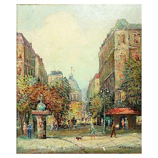 Antoine Blanchard, French (c.1910 - 1988) O/C