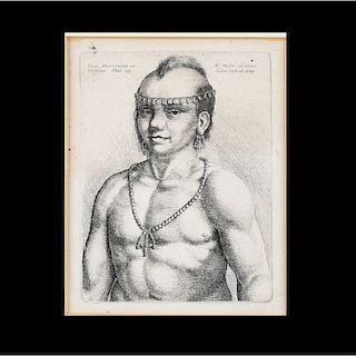 Wencelaus Hollar (1606 - 1677) Engraving