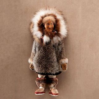 Dolly Spencer (Inuit, 1930-2005) Attributed Doll