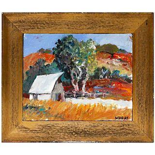 20th century impressionist landscape.