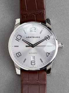 "Montblanc ""Timewalker"" Stainless Steel Wristwatch"