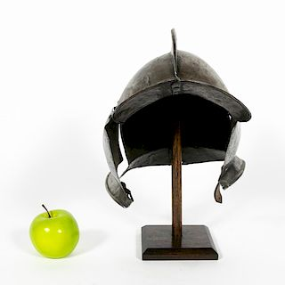 Early, Steel Spanish Conquistador Morion Helmet