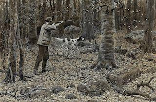 Arthur Burdett Frost (1851-1928) Grouse Shooting