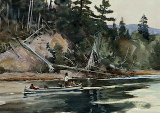 Ogden M. Pleissner (1905-1983) Two Watercolors