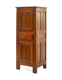 A French Provincial Fruitwood Cabinet