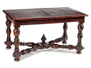 A French Provincial Walnut Table