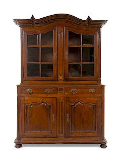 A French Provincial Oak Bookcase