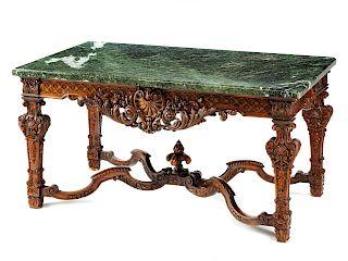 A Régence Style Walnut Center Table