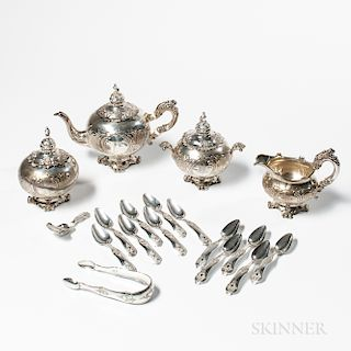 Dutch Silver Tea Service