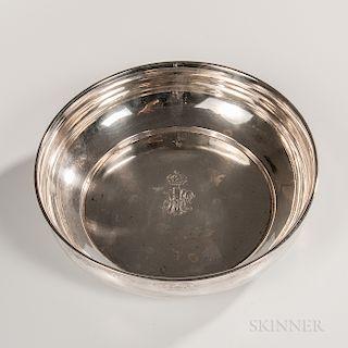 Turkish Silver Bowl
