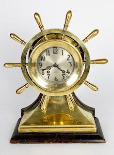 Chelsea Ship's Wheel Bell Clock