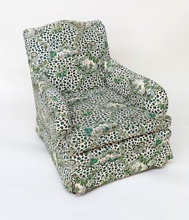 Billy Baldwin Upholstered Club Chair