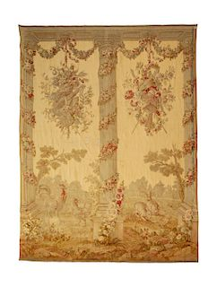 A Beauvais Wool Tapestry