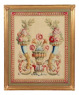 A Beauvais Wool Tapestry Panel
