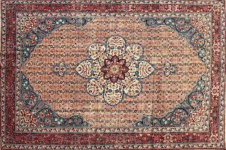 Persian Tabriz Oriental Rug,