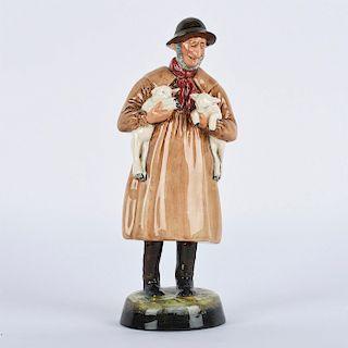 ROYAL DOULTON FIGURINE, LAMBING TIME HN1890
